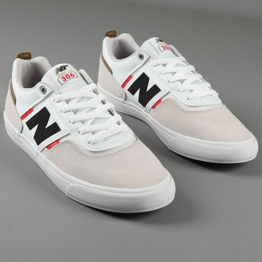 New Balance Numeric '306 Jamie Foy' Skate Shoes (White / Red)