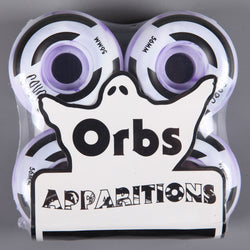 Orbs 'Apparitions Swirls' 56mm 99D Wheels (Purple / White)