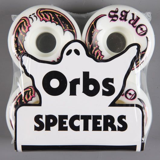 Orbs 'Specters Whites' 53mm 99A Wheels (White)
