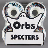 Orbs 'Specters Whites' 54mm 99A Wheels (White)
