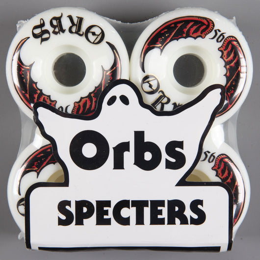 Orbs 'Specters Whites' 56mm 99A Wheels (White)