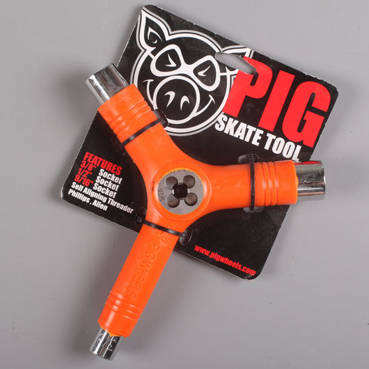 Pig Skate Tool (Solid Orange)