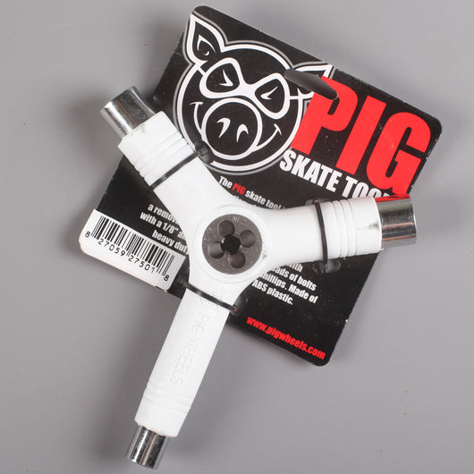 Pig Skate Tool (Solid White)