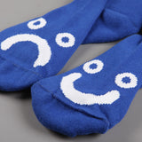 Polar 'Happy Sad' Socks (Blue)