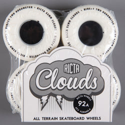 Ricta 'Clouds' 52mm 92a Wheels (White / Black)
