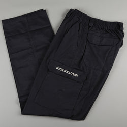 Sour 'City Safari' Cargo Pants (Navy)