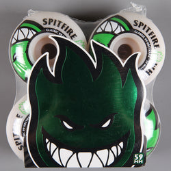 Spitfire 'Bighead' 59mm 99D Wheels (White)