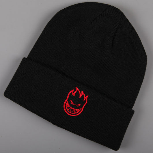 Spitfire 'Bighead' Beanie (Black / Red)