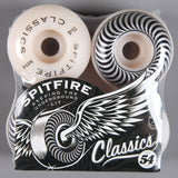 Spitfire 'Classic' 54mm 99D Wheels (White)