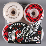 Spitfire 'Classic' 60mm 99D Wheels (White)