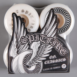 Spitfire 'OG Classic' 54mm 99D Wheels (White)