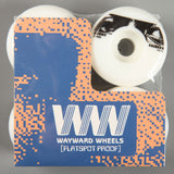 Wayward 'Benny Fairfax Funnel Pro' 54mm 101a Wheels (White / Black)