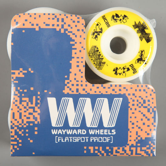 Wayward 'Lucas Puig Funnel Pro' 52mm 101a Wheels (White / Yellow)