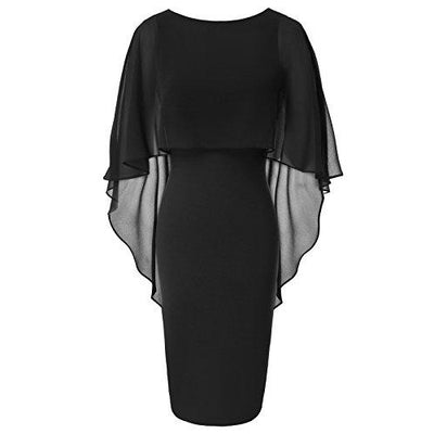 """Shabriri"" - Batwing Bodycon Pencil Dress"