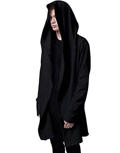 """Avery"" - Long Hoodie Cardigan - OMGoth - My Gothic Shop"
