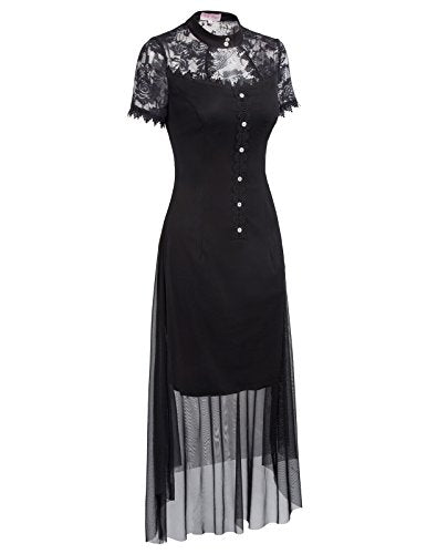 """Gehenna"" - Short Sleeve Dress"