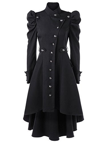 """Ketura"" - Victorian Trench Coat - OMGoth - My Gothic Shop"