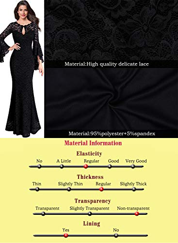 """Tierney"" -  Bell Sleeve Lace Dress - OMGoth - My Gothic Shop"