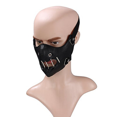 """Monte"" - Leather Half Face Mask"