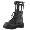 """Nova"" - Harness Ankle Boots-Shoes-OMGoth Shop"