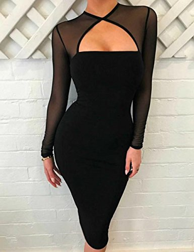 """Yolanthe"" - Bodycon Bandage Dress - OMGoth - My Gothic Shop"