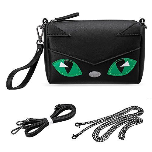 """Caera"" - Black Cat Purse"