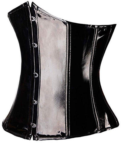 """Kali"" - PVC Corset-Corsets-OMGoth-My Gothic Shop"