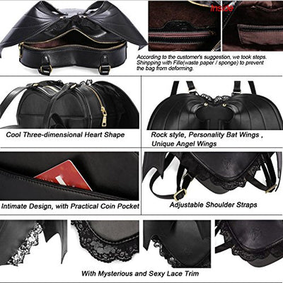 """Artemia"" - Bat Wings Backpack - OMGoth - My Gothic Shop"