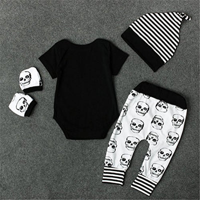 """Jael"" - Skull Outfit - Baby Set - OMGoth - My Gothic Shop"
