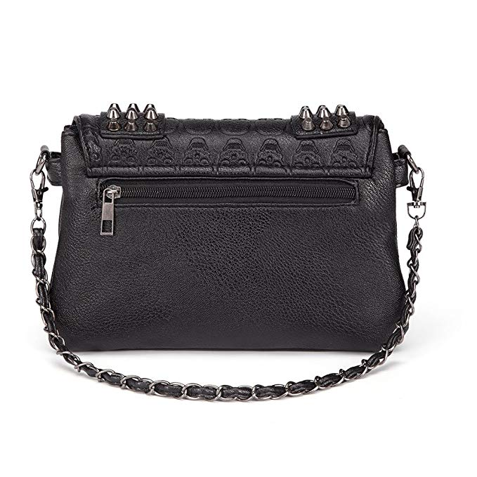 """Radella"" - Gothic Vegan Leather Bag - OMGoth - My Gothic Shop"