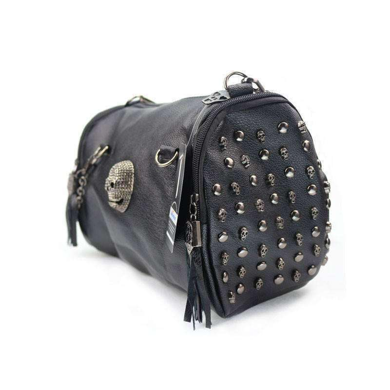 "OMGoth - My Gothic Shop bag ""Dorian"" - Skull Handbag"