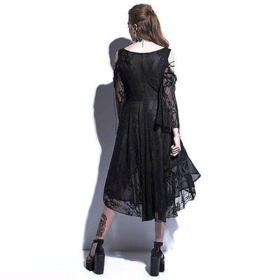 "OMGoth - My Gothic Shop - ""Valentina"" - Gothic Lace Dress"