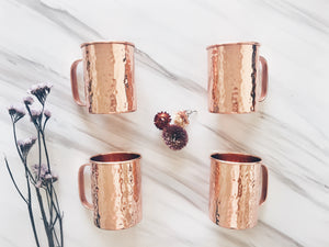 Classic Straight Mug Shape - Set of 4