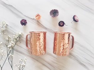 Classic Straight Mug Shape - Set of 2