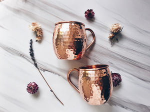 Cocktail Shaker + 2 Barrel Mugs