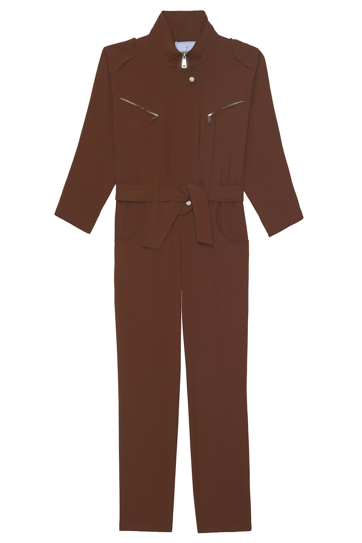 ocher brown jumpsuit