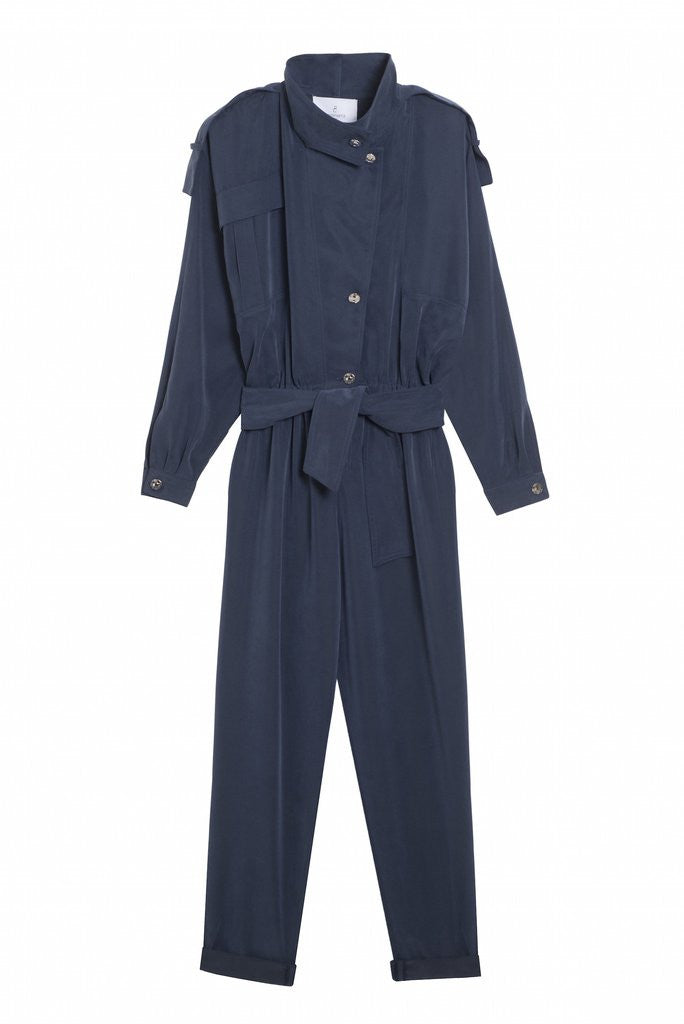 DALLAS 1989 - Long sleeve pants jumpsuit - Blue or Beige