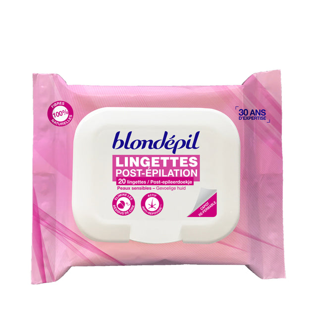 PACK LINGETTES POST'EPIL - Blondépil