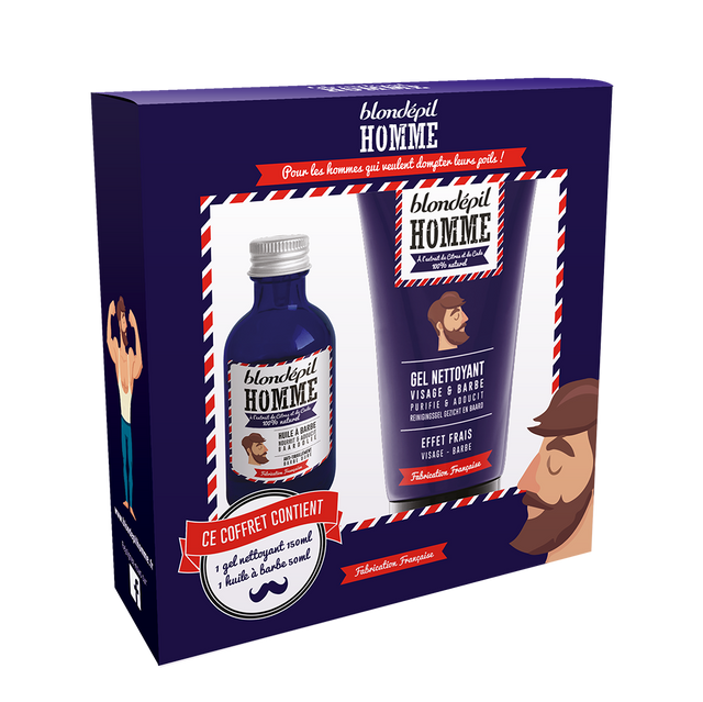 Coffret « Belle barbe de hypster » - Blondépil