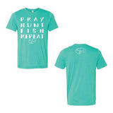 Bella-Canvas Heather Sea Green