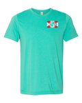 850 Bella+Canvas Heather Sea Green Shirt