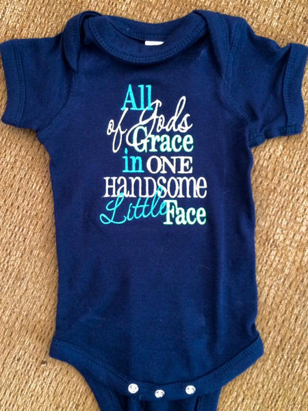 All of God's Grace Onesie