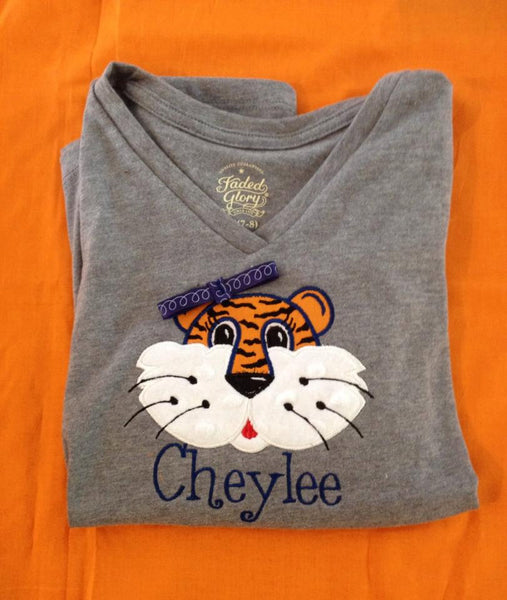 Aubie Applique Shirt