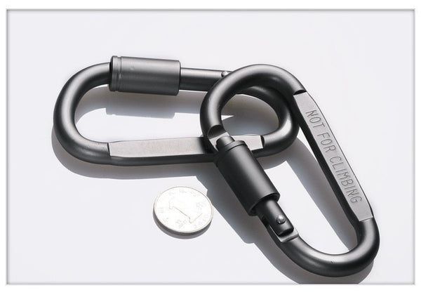 FREE High-quality Bold D-RING Locking Hanging Aluminum Buckle