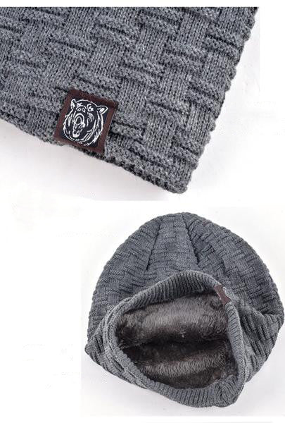 FREE Autumn And Winter Thick Warm Knitted Reverse Beanie