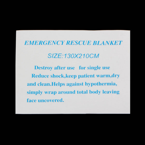 FREE Waterproof Disposable Emergency Rescue Blanket