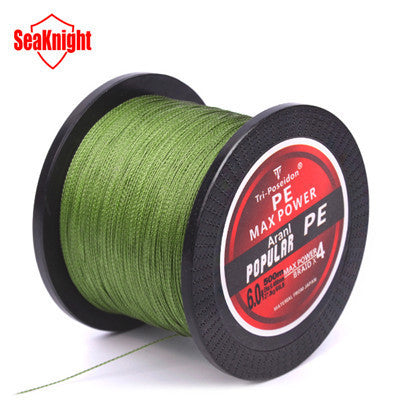 Fishing Line Tri-Poseidon Super Strong Multi-filament PE Braided