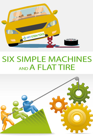 My STEM Toys - Six Simple Machines and a Flat Tire