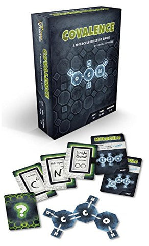 Covalence: A Molecule Building Game