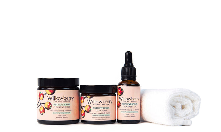willowberry 3 step skincare collection